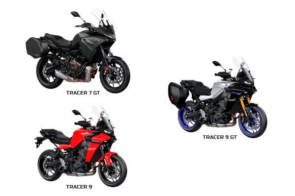Yamaha lança 3 novas motos Tracer para 2021