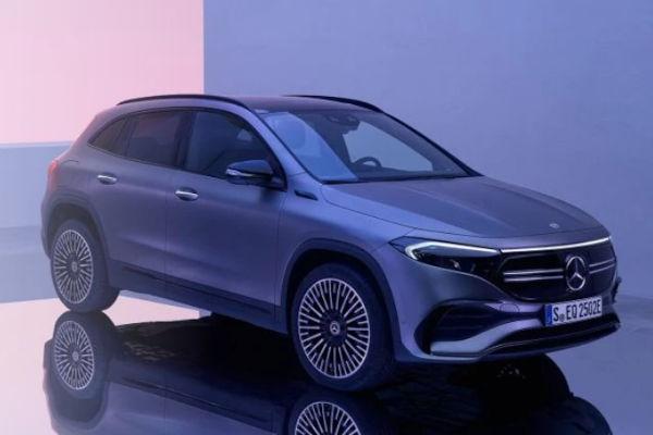 Lançamento do Mercedes-Benz EQA