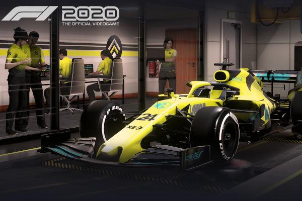 Nova versão do jogo oficial da F1
