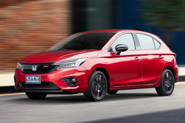 Estréia do Honda City Hatch 2021 na Tailândia