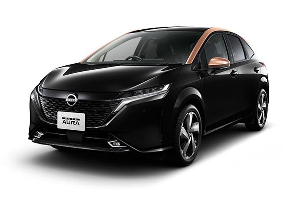 Lançamento do Nissan Note Aura no Japão