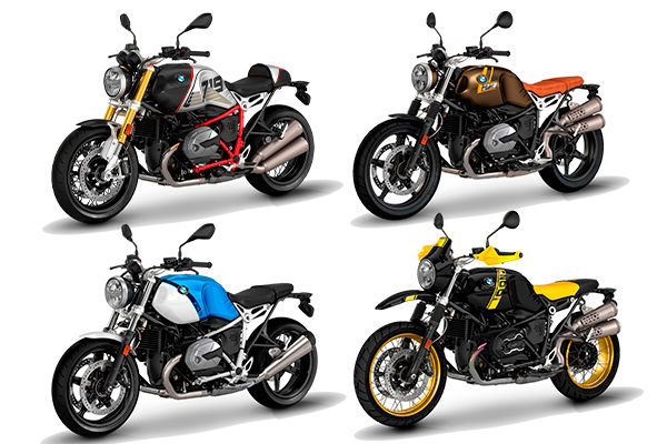 BMW lança versão 2021 para 4 motos da linha R nine T